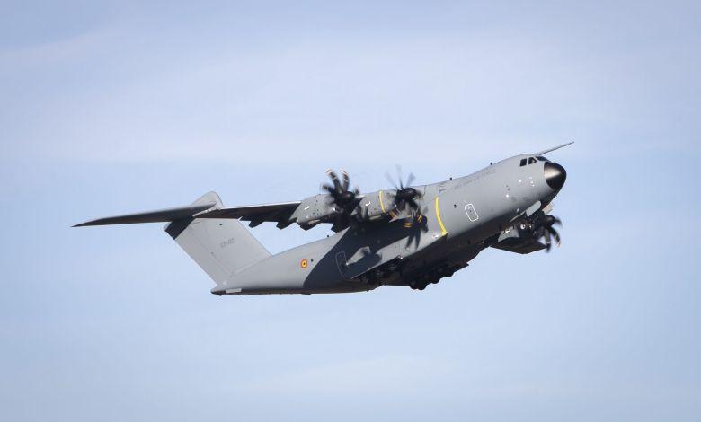 Belçika Hava Kuvvetleri ilk A400M'i teslim aldı