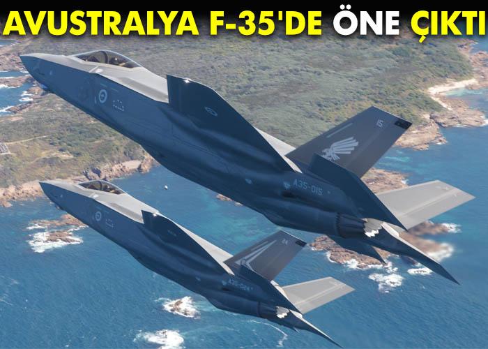Avustralya F-35'de öne çıktı