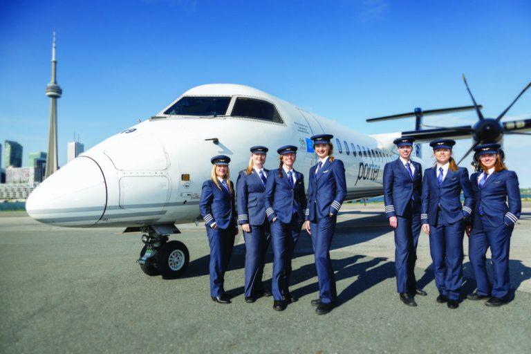 En çok kadın pilot Porter Havayolları'nda