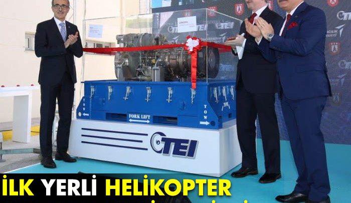 İlk yerli helikopter motoru teslim edildi