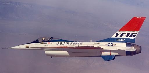 F-16 lar 47. yılını kutluyor.