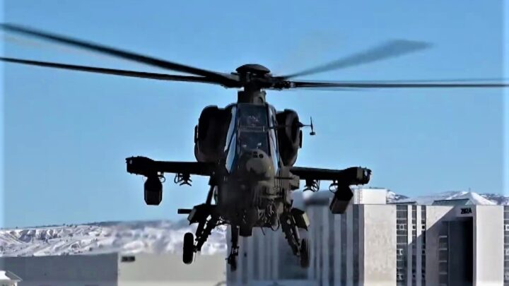 Emniyet Genel Müdürlüğü İçin Üretilen İlk Atak Helikopter Teslim Edildi